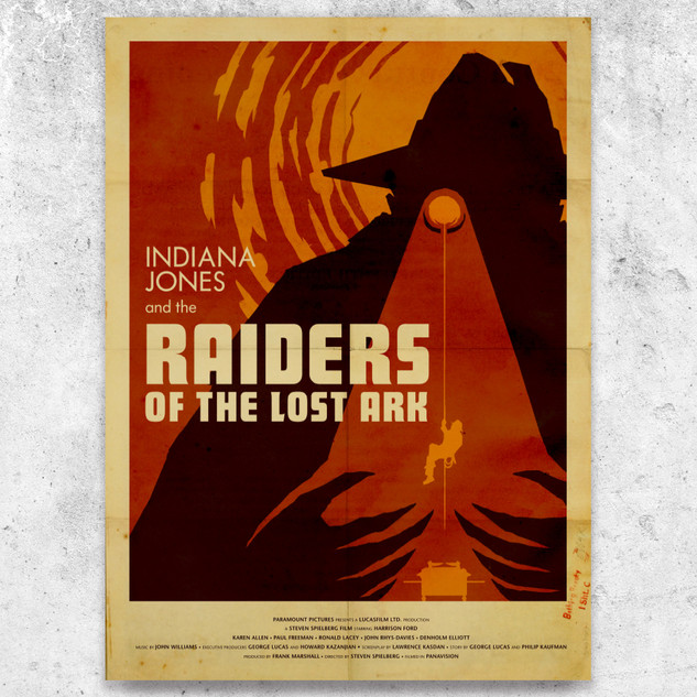 Raiders of the Lost Ark Poster Design