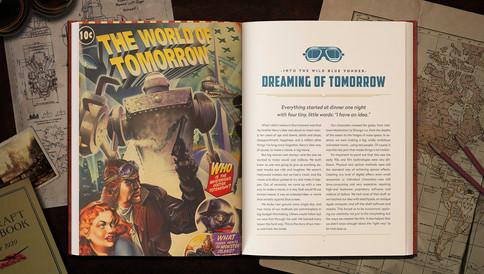 Kevin Conran's Sky Captain & the Art of Tomorrow Interior Spread