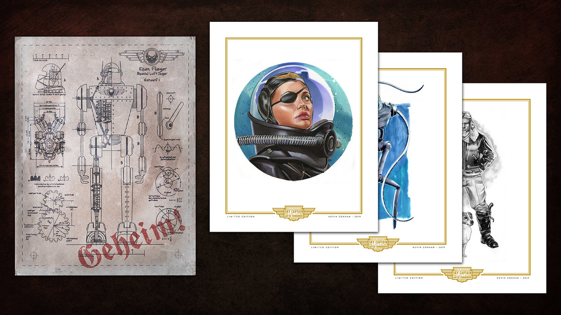 Kevin Conran's Sky Captain & the Art of Tomorrow Bonus Materials
