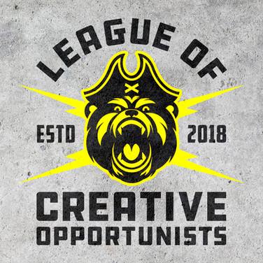League of Creative Opportunists Logo Design