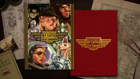 Kevin Conran's Sky Captain & the Art of Tomorrow Deluxe Standard Cover and Dustjacket