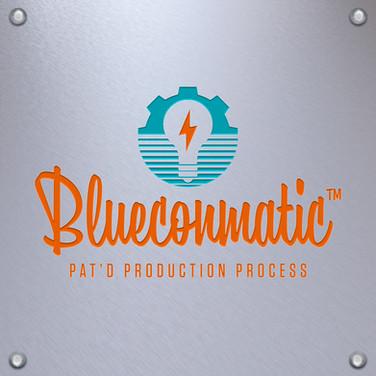 Blueconmatic Logo Design