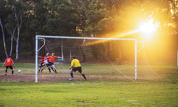 Soccer Goalie Ready