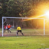 Futebol goleiro Pronto