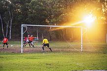 Voetbal Goalie Klaar