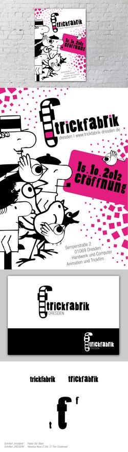 Trickfabrik Dresden Plakat Logo