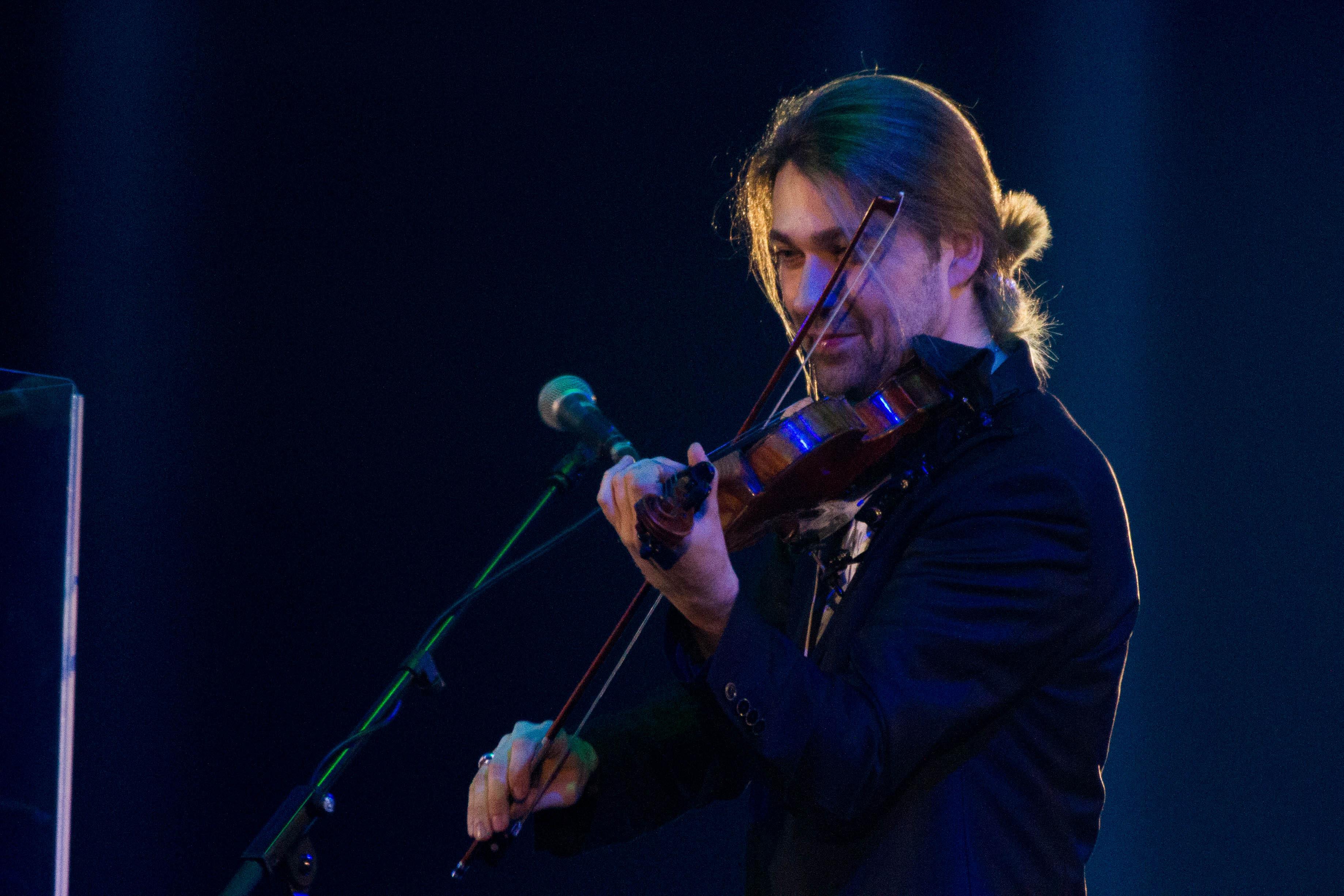 David Garrett mit Geige