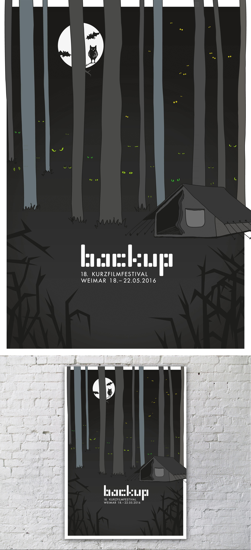 Backup Weimar Plakat Wettbewerb