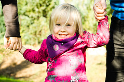 Kind mit Eltern Fotografie Kuckkuck