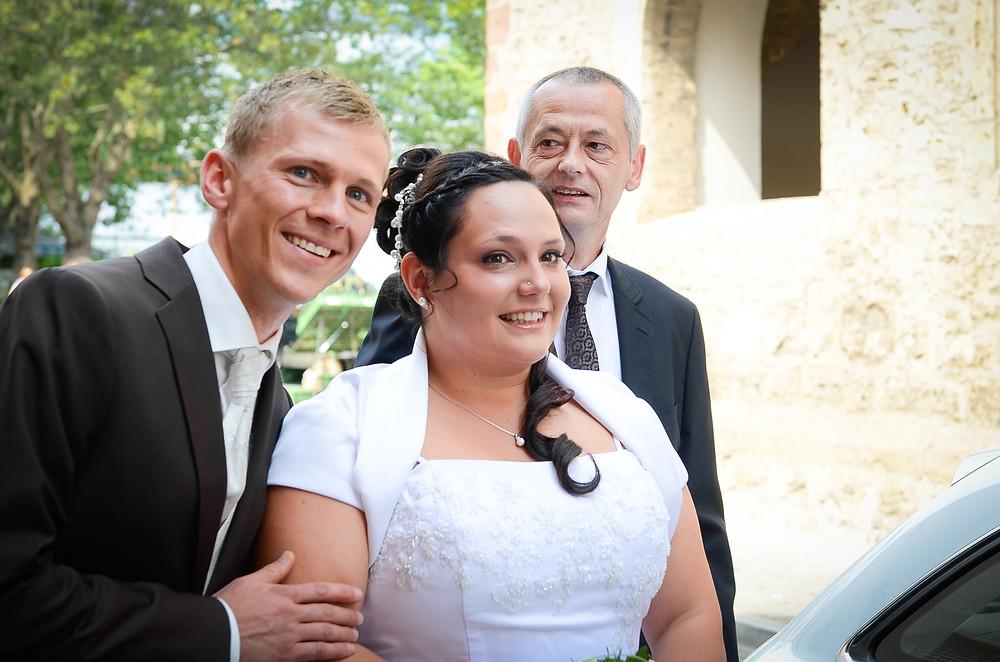 Foto Braut mit Bräutigam in Jena