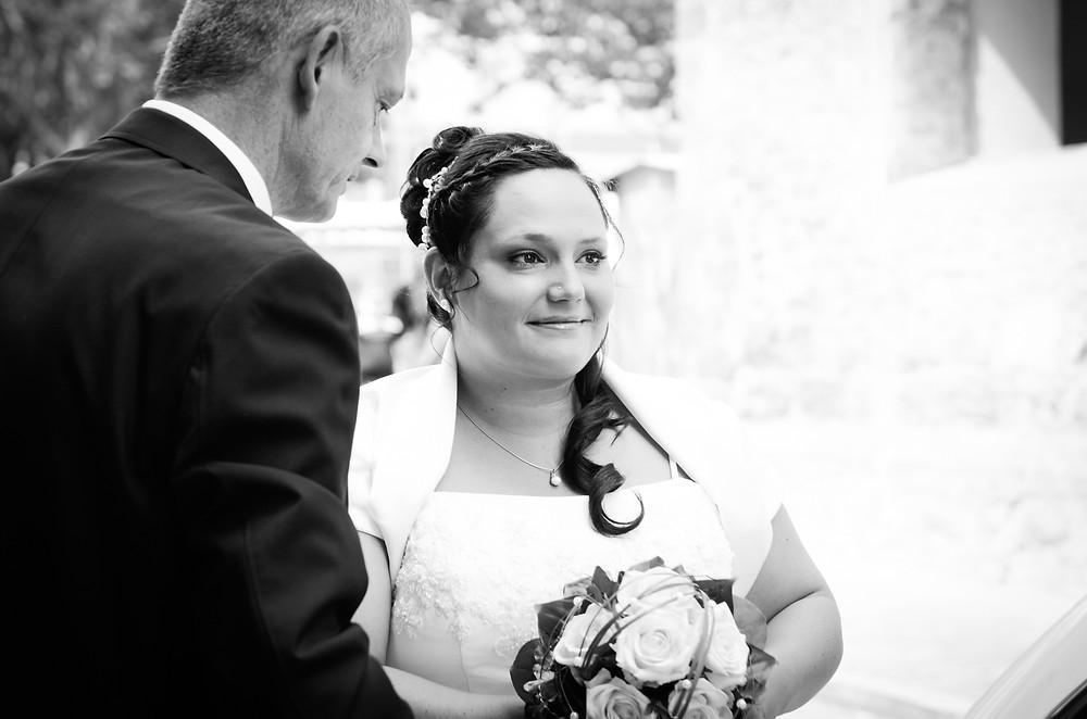 Foto Braut mit Vater in Jena