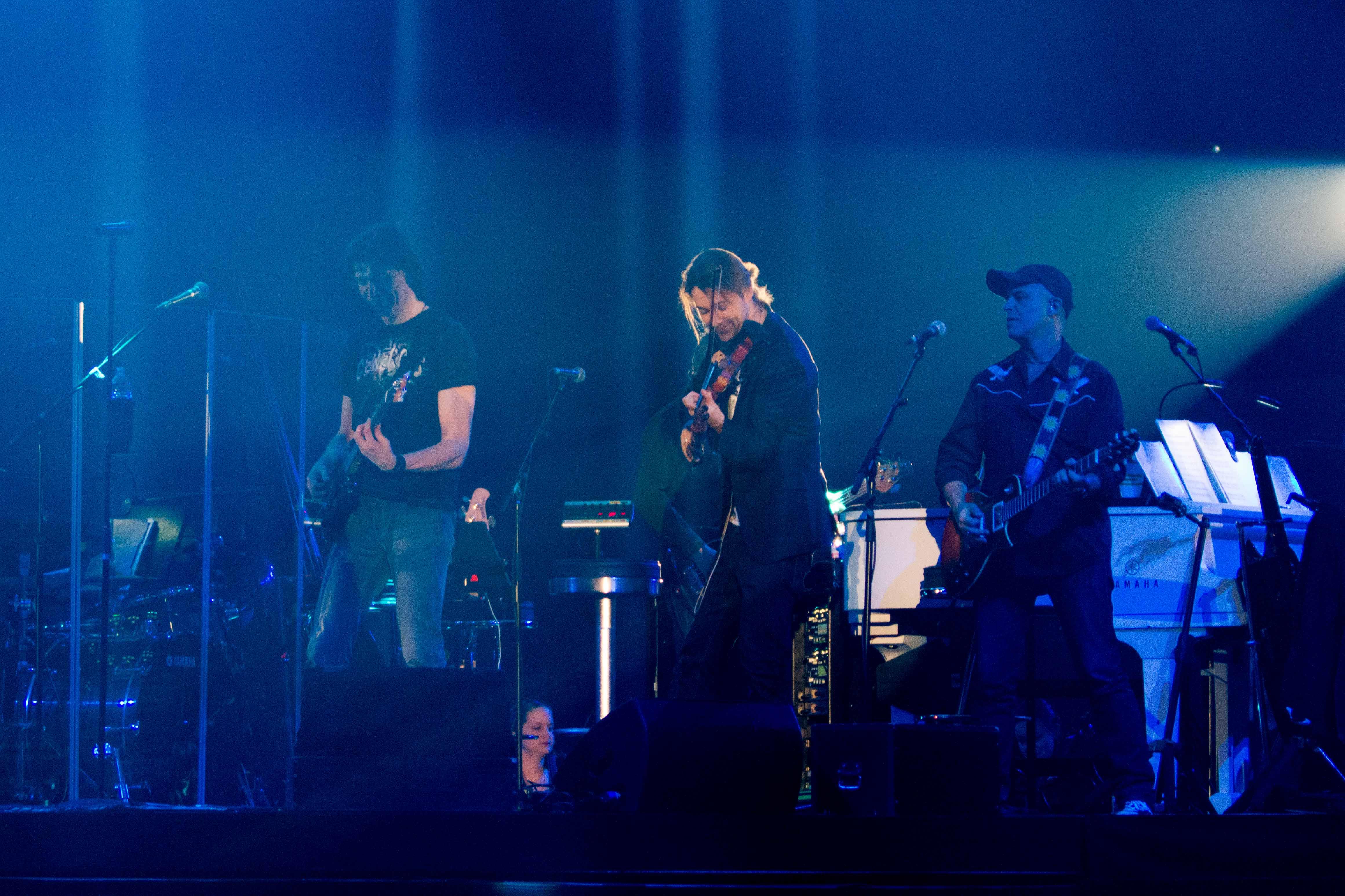 David Garrett mit Band in der Messehalle Erfurt