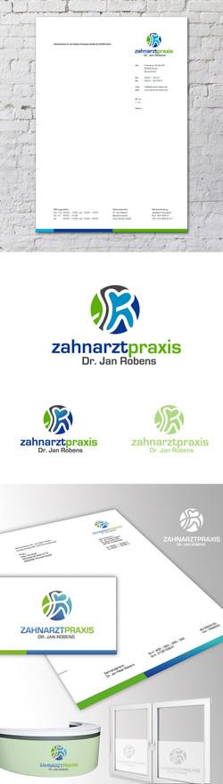 Zahnarzt Logo Praxis Design Kuckkuck