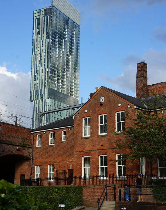Saul Hay Gallery, Castlefield, Manchester, Beetham Tower