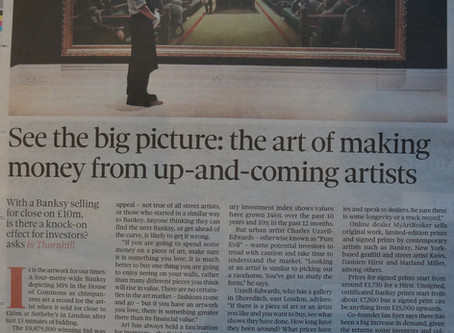 Ian was interviewed for an article in The Observer