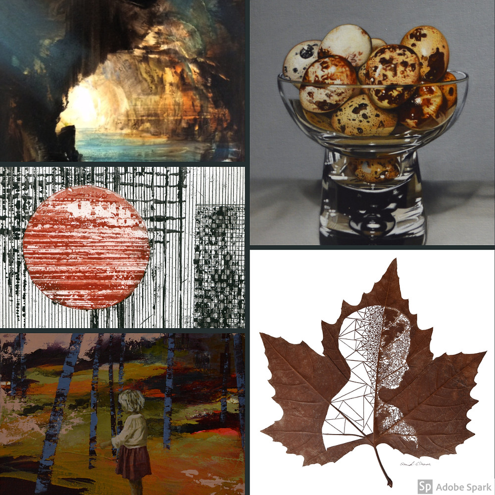 original art a unique Christmas present. Omid Asadi. James Naughton. Paulette Bansal. Paul Stone. Margaret Cahill