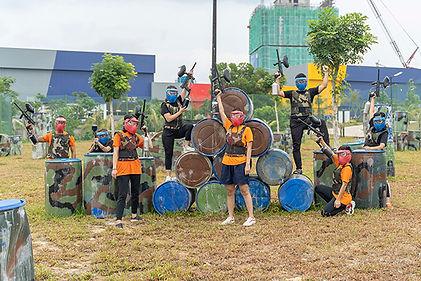 Team Building Johor Desaru malaysia run
