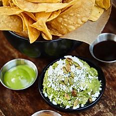 Guacamole & Hand Cut Tortilla Strips