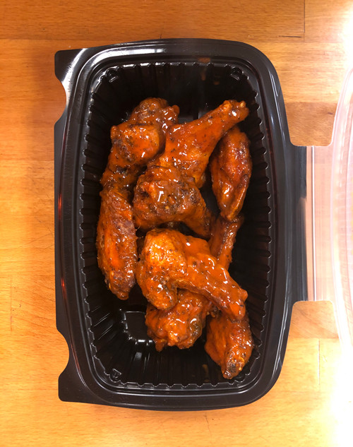 House Smoked Wings, Spicy Buffalo