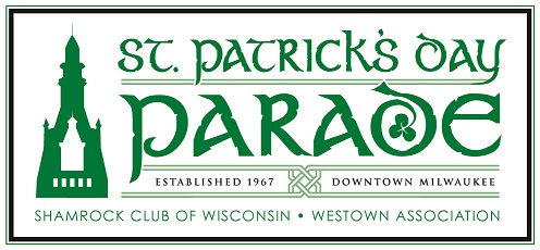 St Patricks Day Parade logo 2015 with bo