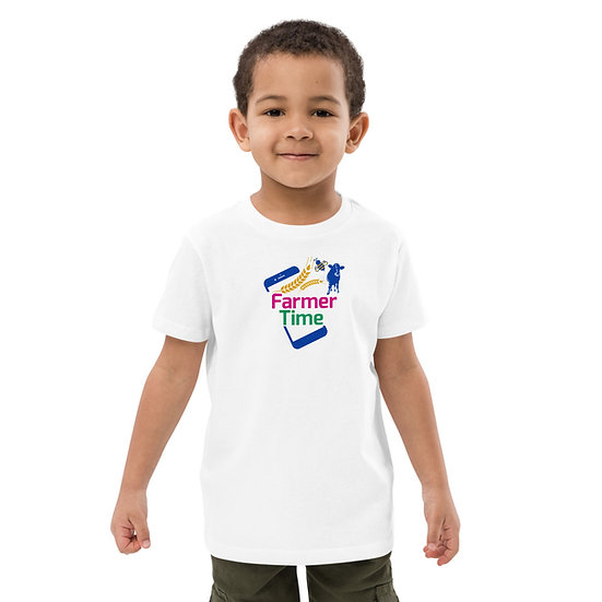 Farmer Time Organic Cotton Kids T-shirt