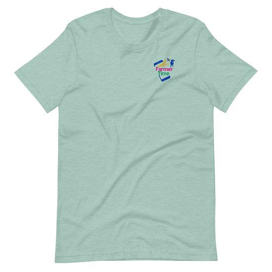 Farmer Time Short-Sleeve Unisex T-Shirt