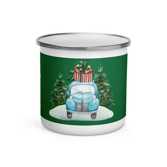 Special Delivery Christmas: Enamel Mug