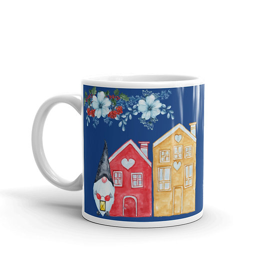Christmas Gnome Village: Ceramic 11 oz