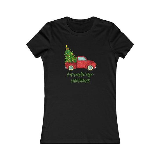 Farmhouse Christmas Women's Favourite Tee