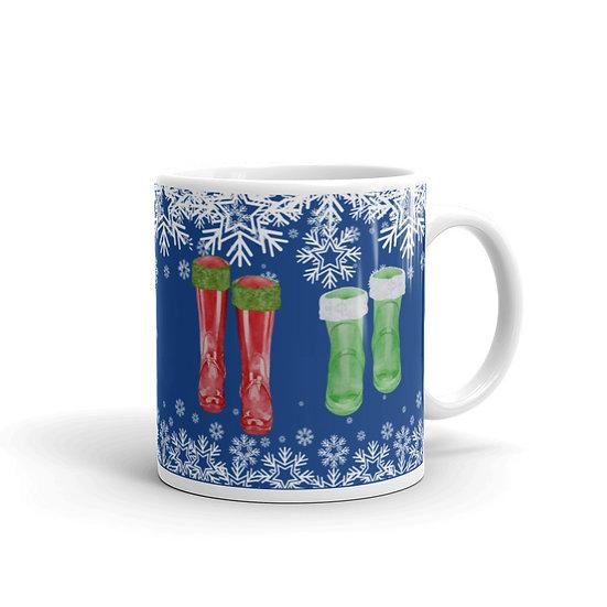 Our First Christmas Mug: Ceramic 11 oz