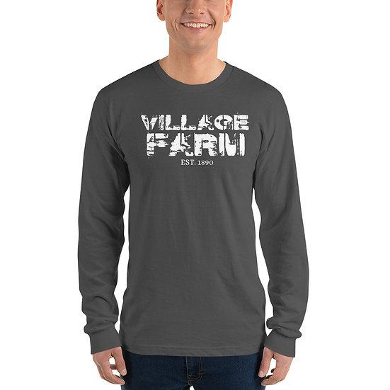 Village Farm Faded Long Sleeve Shirt