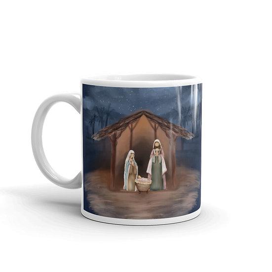 Christmas Nativity: Ceramic Mug 11 oz