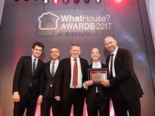 Gold award at prestigious WhatHouse? awards for the RO's housebuilder Metis Homes