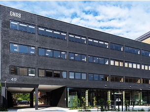 GNR8, Watford. Contemporary office redevelopment is the first building in Hertfordshire.