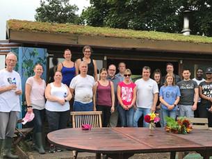Local RO employees help out at Mudlarks Community Garden in Hertford