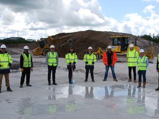 RO Group breaks ground on industrial scheme in Amesbury