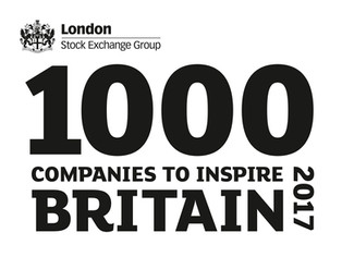 The RO included in '1000 Companies to Inspire Britain' report on dynamic and fast growing businesses