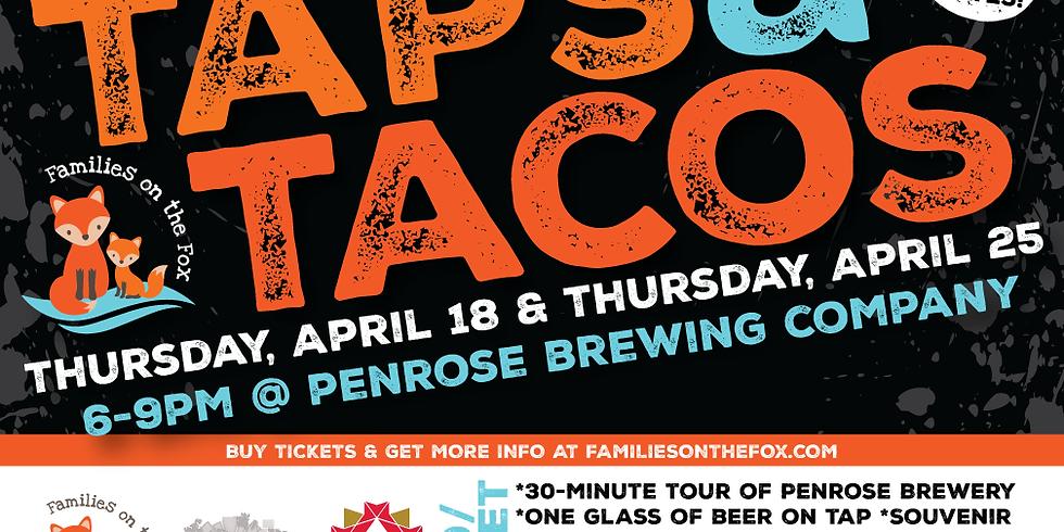 TAPS & TACOS - Thursday, April 25