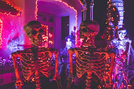 Halloween Home Displays