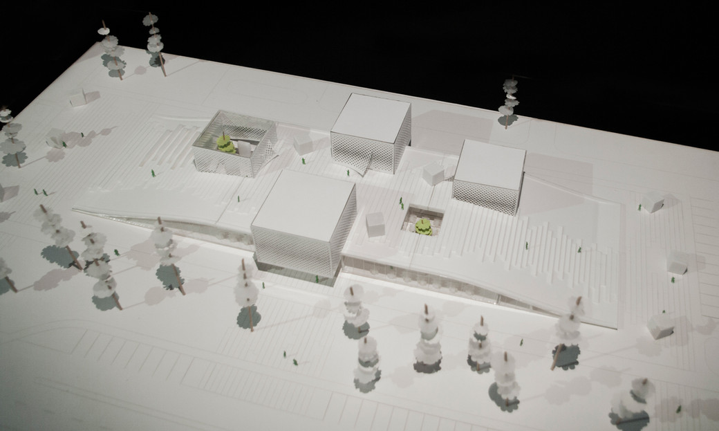 Detailed architectural model