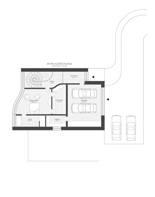 02 plan of House Ceres
