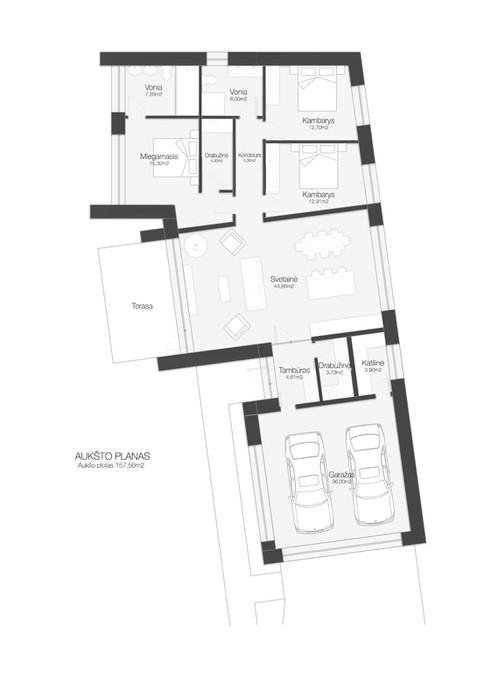 Plan of House Gudi