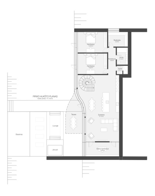 01 plan of House Ceres