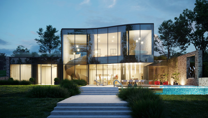 Architectural visualization of House Ceres