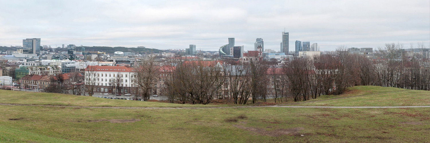 View from Tauras Hill