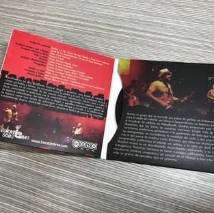 CD + CAJA IMPRESA 2 CUERPOS