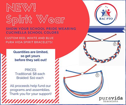 Copy of NEW! Spirit Wear Show your schoo