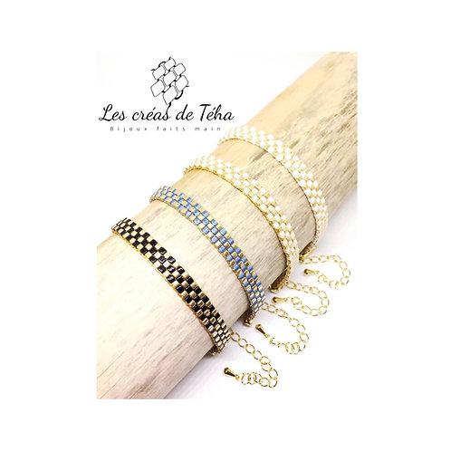 Bracelet fin plaqué or