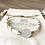 Bracelet Summer blanc, doré et perle imitation perle de lune