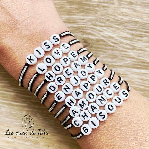 Bracelet Les créas de Téha modèle I'oa